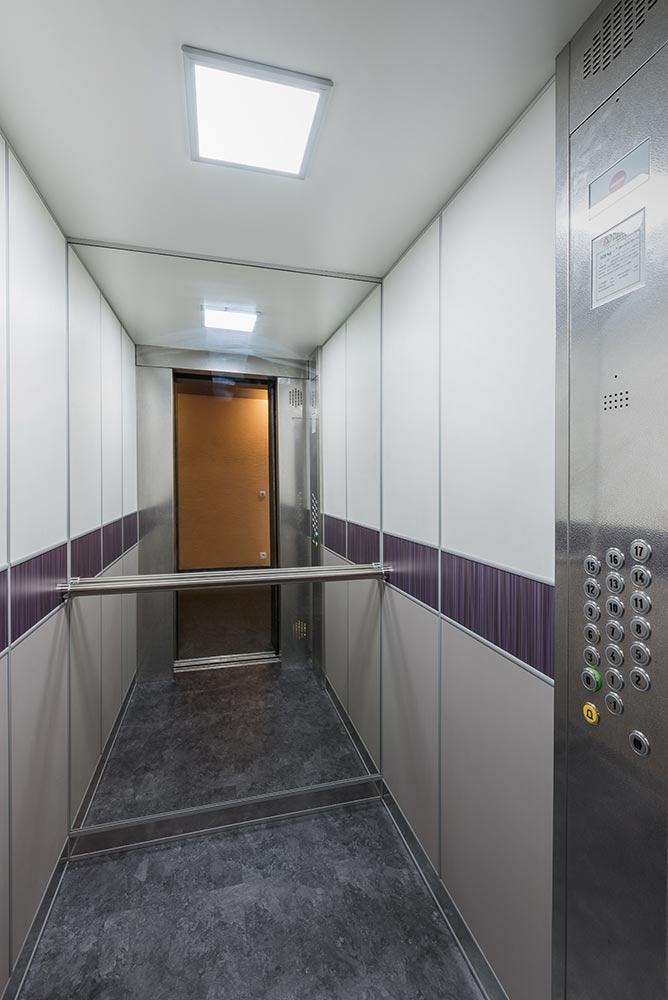 r novation habillage cabine d 39 ascenseur en copropri t. Black Bedroom Furniture Sets. Home Design Ideas