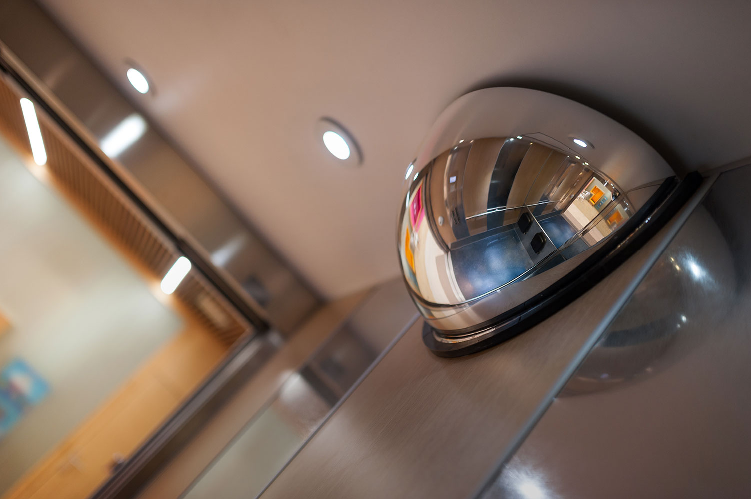 R novation d une cabine d ascenseur dans une maison de for Animatrice dans une maison de retraite